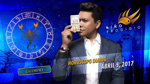 Niño Prodigio - Escorpión 5 de abril 2017