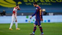 Esta es la sanción que tendrá que pagar Messi tras su expulsión