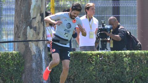 Oribe Peralta estaría listo en dos semanas para volver a la plantilla titular del América