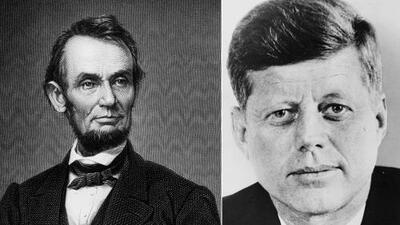 10 extrañas coincidencias entre Abraham Lincoln y John F. Kennedy