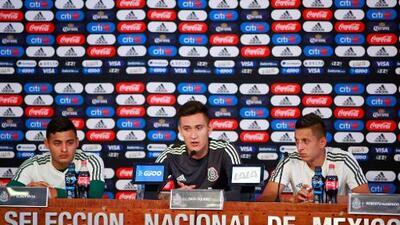 Alexis Vega y Raúl Gudiño darán la pelea por un lugar de los 23 rumbo a la Copa Oro