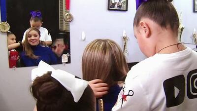 A sus 7 años, esta niña de Texas es una prestigiosa barbera que ha ganado varias competencias