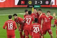 Gio Reyna y el Dortmund no pudieron ante el poderío del Bayern Munich