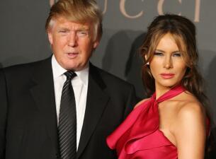 Melania Trump y sus looks más arriesgados (cuando a nadie le importaba cómo vestía)