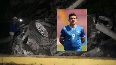 Futbolista salvadoreño Rodolfo 'Fito' Zelaya involucrado en un aparatoso accidente de tránsito