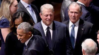 En fotos: Políticos, empresarios, actores y amigos asistieron al funeral de John McCain