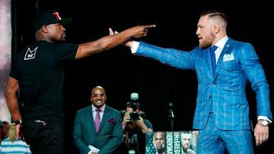 La Mayweather vs. McGregor no ha despegado en taquilla