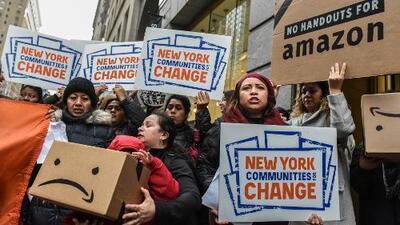The Washington Post: Amazon está reconsiderando su plan de abrir una nueva sede en Nueva York