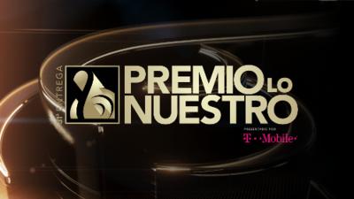 Premio Lo Nuestro - Febrero 21 7pm/6C