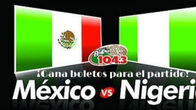 La Qué Buena 104.3 y Bud Light te llevan al partido de México vs. Nigeria