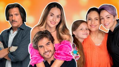 Conoce a los personajes de 'Mi marido tiene más familia' y no te pierdas su gran estreno esta noche por Univision