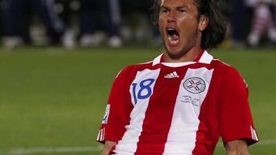 """Nelson Valdez: """"Recuerdo el gol de la clasificación con Paraguay contra Argentina"""""""