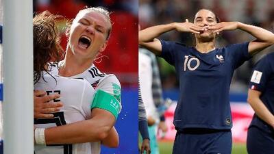 Francia consiguió su pase a la siguiente ronda y Alemania venció a España