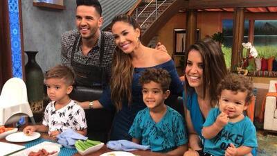 Detrás de cámaras: Karla quedó enamorada de los hijos de Nacho y casi se queda con uno