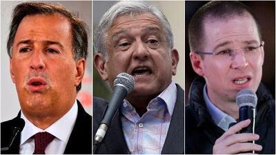 Con José Meade, Manuel López Obrador y Ricardo Anaya oficializan candidaturas a la Presidencia de México