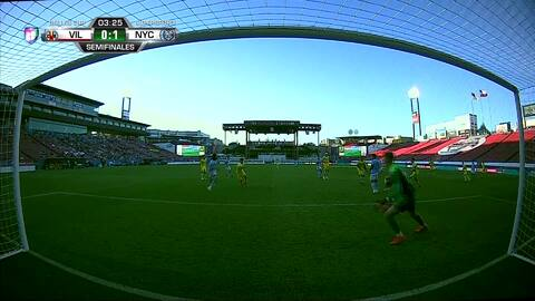 Villarreal vence 3-2 al New York City y se instala en la final de la Dallas Cup