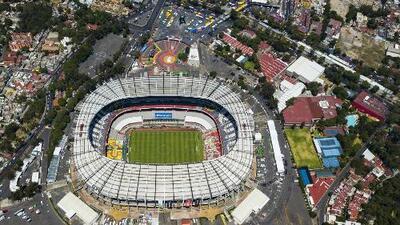 La cancha del Estadio Azteca presenta su mejor versión desde que le pusieron el pasto híbrido