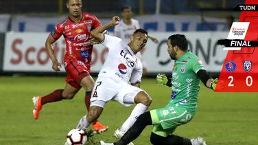 Alianza da golpe casi mortal en Concacaf League