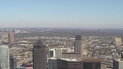 Cielos soleados y condiciones secas le esperan a Dallas durante la tarde de viernes