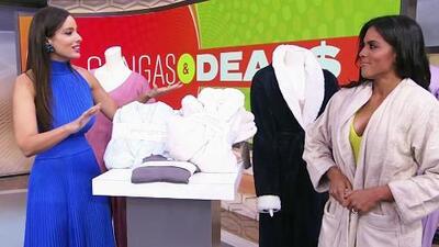 Aleyda Ortiz quiere consentirte de pies a cabeza con grandes descuentos en productos en 'Gangas & Deals'