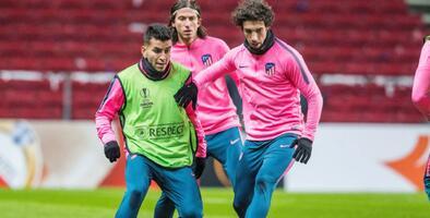 Correa y Vrsaljko, los positivos por COVID-19 en el Atleti