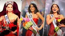 ¿Es su amuleto? Andrea Meza y las otras Miss Universo mexicanas vistieron de rojo a la hora de coronarse