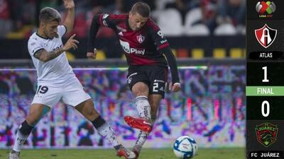 Atlas 1-0 Bravos de Juárez - RESUMEN Y GOL - Jornada 1 - Apertura 2019