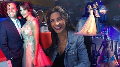 Argelia quiere cumplir el sueño de una quinceañera y regalará el vestido con el que bailó junto a Chayanne