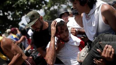 Sigue la represión en Venezuela: así transcurrió la jornada tras el llamado a las calles del presidente Guaidó