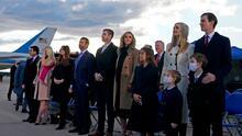 Custodiar a hijos de Trump costó más de $140,000 el mes tras dejar la Casa Blanca