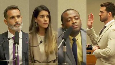 El cuñado, la esposa y más personas que testificaron en la larga audiencia donde Pablo Lyle no logró su libertad