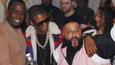 DJ Khaled's friends threw it down for his birthday