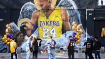 """""""Fue una gran inspiración"""": fanáticos de Los Lakers se reúnen para recordar y homenajear a Kobe Bryant"""
