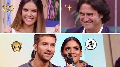 #DAEnUnMinuto: Francisca canta como Pablo Alborán, y el regalo de bodas de 'Poty' a Marlene Favela