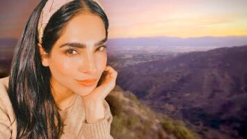 """Alejandra Espinoza encontró algo más """"hermoso"""" que el espectáculo de sus amaneceres"""