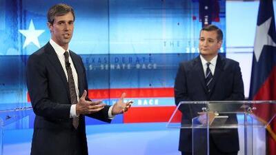Ted Cruz y Beto O'Rourke se preparan para recibir los resultados de las elecciones de medio término