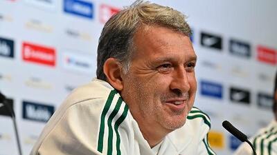 'Tata' Martino contento de 'sentarse' a debatir con dueños de fútbol mexicano