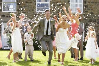 'Wedding etiquette' para presupuestos bajos