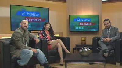 La nueva integrante de El Bueno, La Mala y El Feo visitó Univision Houston con sus compañeros