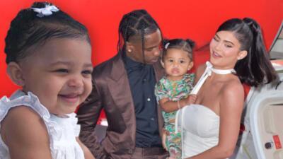 En fotos, el debut de Stormi, la hija de Kylie Jenner y Travis Scott, en una alfombra roja