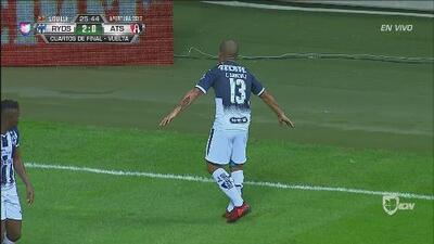 ¡Bombazo de Carlos Sánchez y llegó el segundo gol de Rayados!