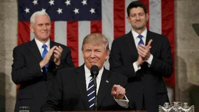 En video: Primer discurso de Donald Trump ante el pleno del Congreso (íntegro y en español)
