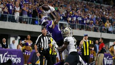 Vikings dominan 29-19 a los Saints con el brillo de Stefon Diggs