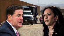 """""""El presidente Biden debería reemplazarla de inmediato"""": lo que opina el gobernador de Arizona de Kamala Harris"""