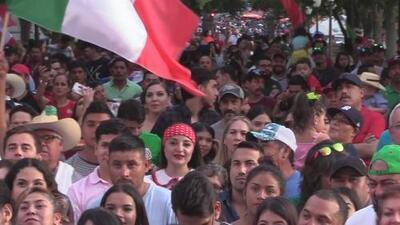 Así festejaron el grito de Independencia de México en Austin