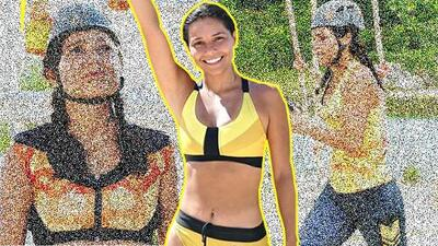 Marina Ruiz no cumplió su sueño en Reto 4 Elementos