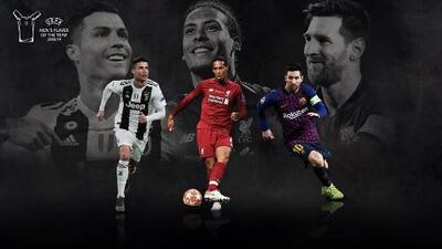 UEFA da nominados a premio a Mejor Jugador del Año