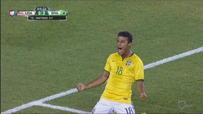 Rafinha y Brasil bailan a EE.UU.