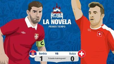 La 'Novela' del Serbia vs Suiza: con un golazo, los serbios ganan y son líderes de su grupo