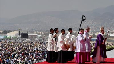 El Papa pide por un México en donde no se emigre